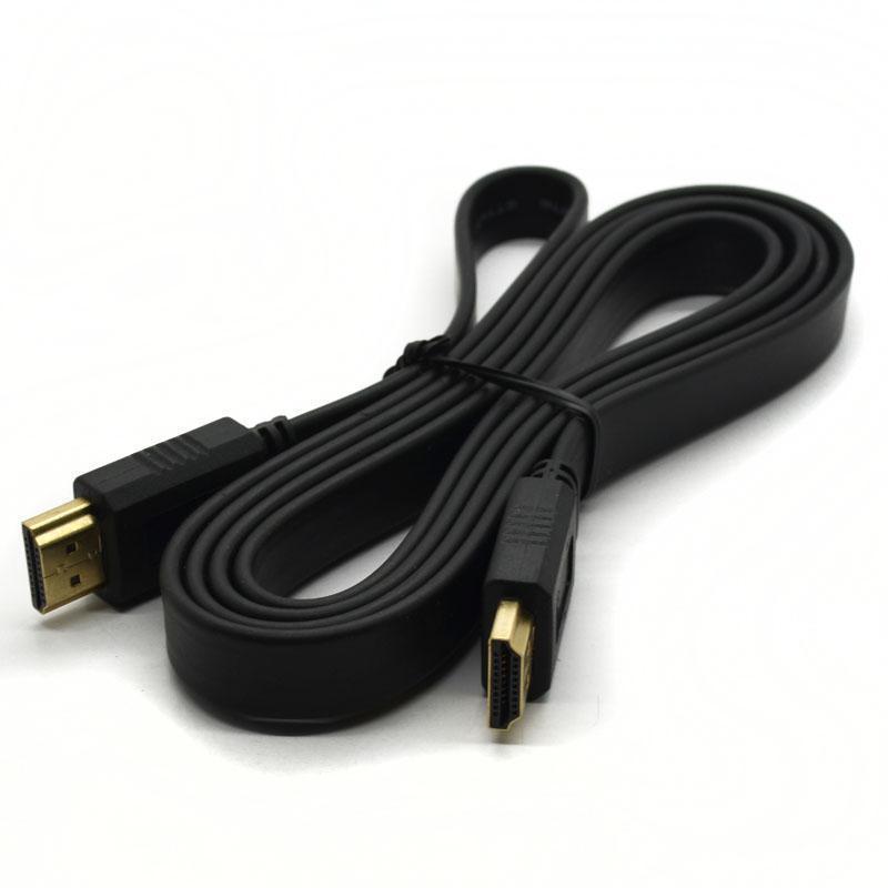 Cáp truyền tín hiệu HDMI Full HD dẹp 1,5m (Đen)