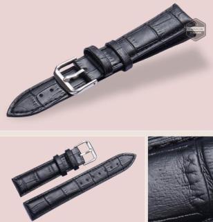 Dây đồng hồ da (size 20mm) có sẵn khóa inox + Tặng bộ chốt dây và thay dây thumbnail