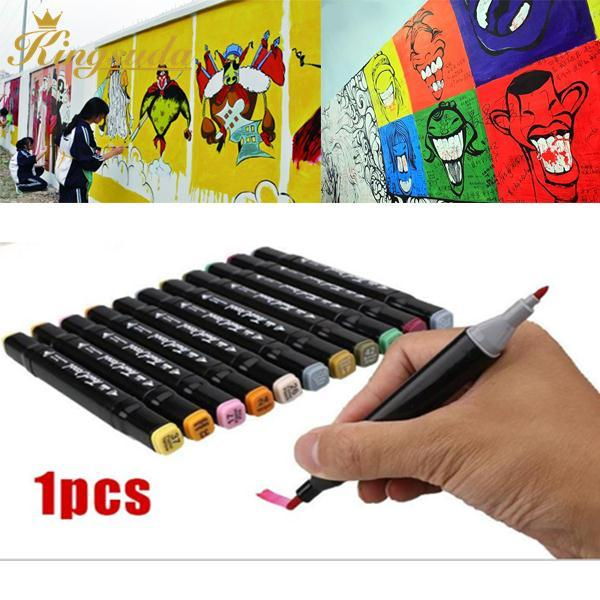 Mua Alcohol Graphic Art Drawing Painting Cartoon Sketch Copic Twin Tip Marker Pen*