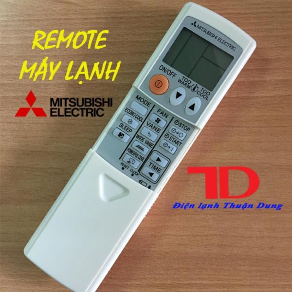 Remote máy lạnh MITSUBISHI ELECTRIC Trượt mặt trắng