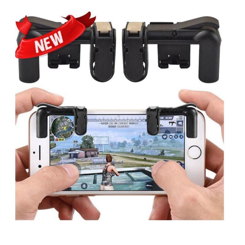 Bộ 2 Nút Bấm Chơi Game PUBG Dòng C9 K01 Hỗ Trợ Chơi Pubg Mobile, Ros Mobile, Ipad - Thế hệ F3 (Nút cơ)