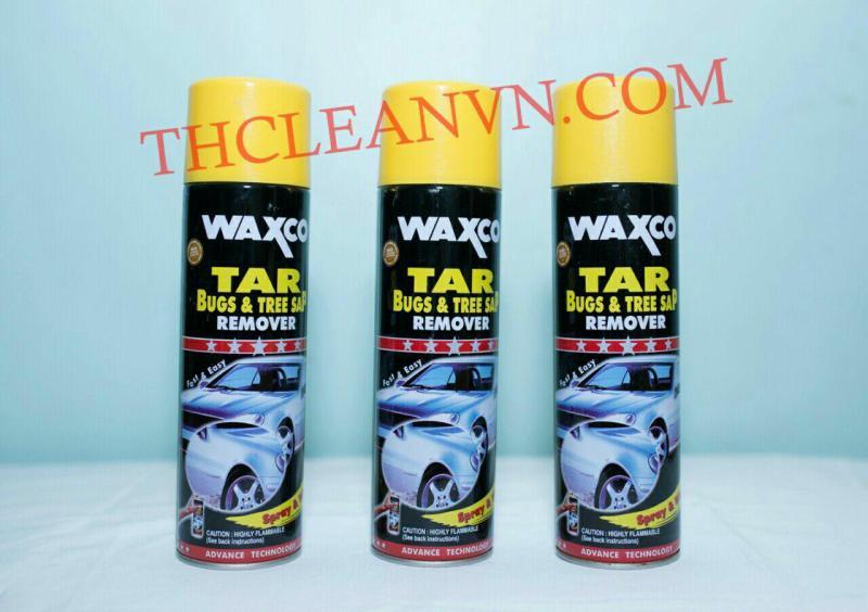 Tẩy băng keo,  tẩy nhựa đường Waxco