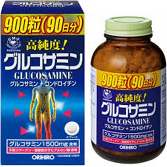 Viên uống bổ khớp Glucosamine 900 Viên Orihiro Nhật Bản