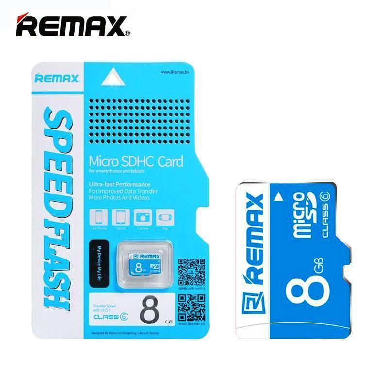 Thẻ nhớ MicroSD Remax 8Gb tốc độ Class 6 chuyên dụng cho camera