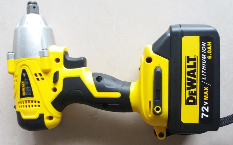 Hình ảnh Máy siết bulong dùng pin Dewalt 72V