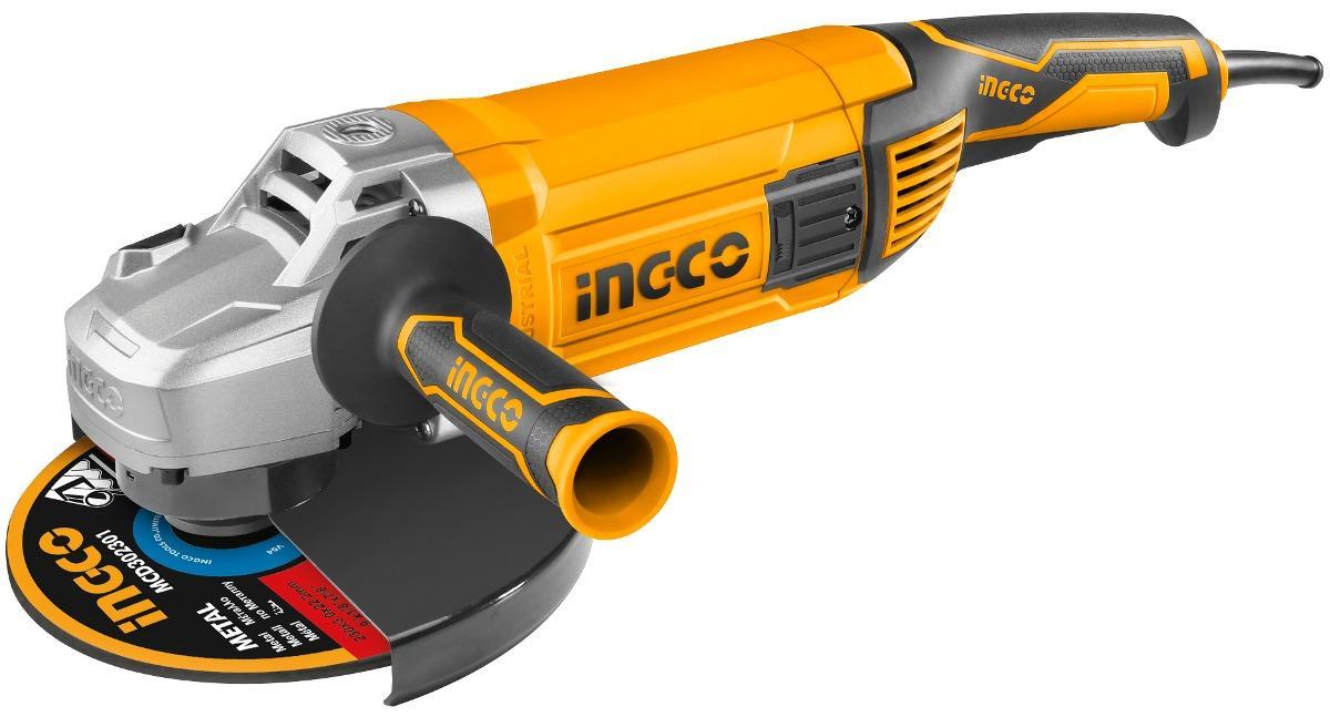 180mm (7inch) Máy mài góc 2400W INGCO AG24008