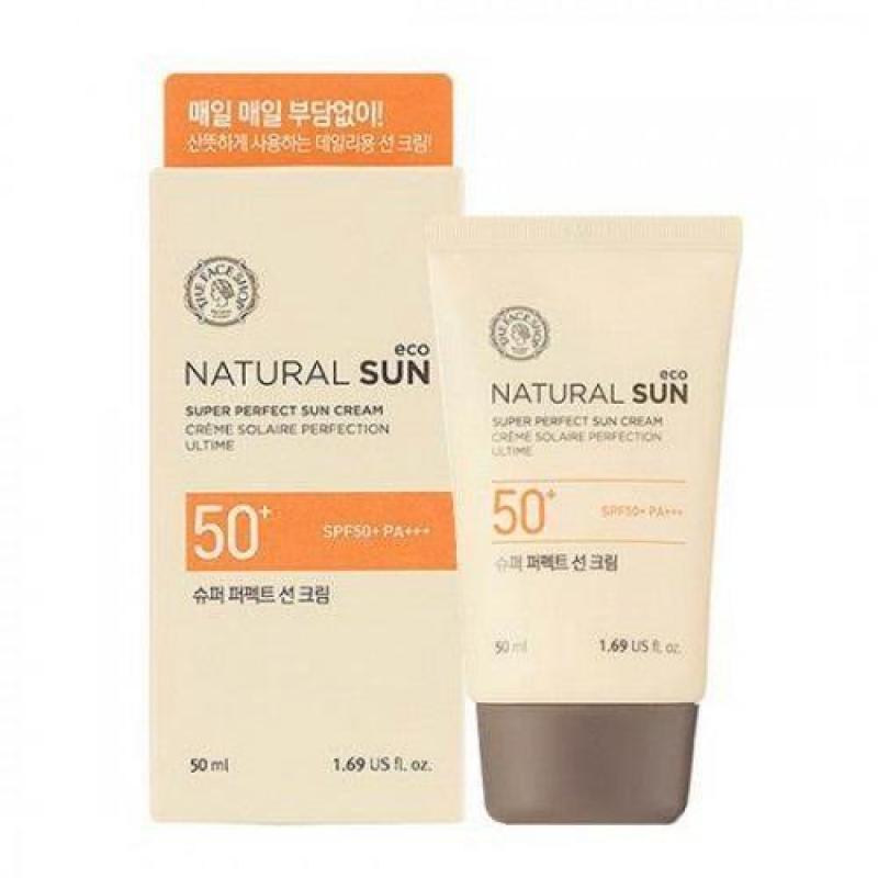 Kem Chống Nắng Tăng Cường NATURAL SUN ECO SUPER PERFECT SUN CREAM SPF50+ PA+++- KCNTFS06 nhập khẩu