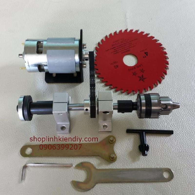 Bộ Chế Cưa Bàn Với Motor 775 150w - 18000 vòng