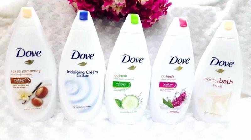 Sữa tắm Dove cao cấp 500ml (Hàng của Đức) nhập khẩu