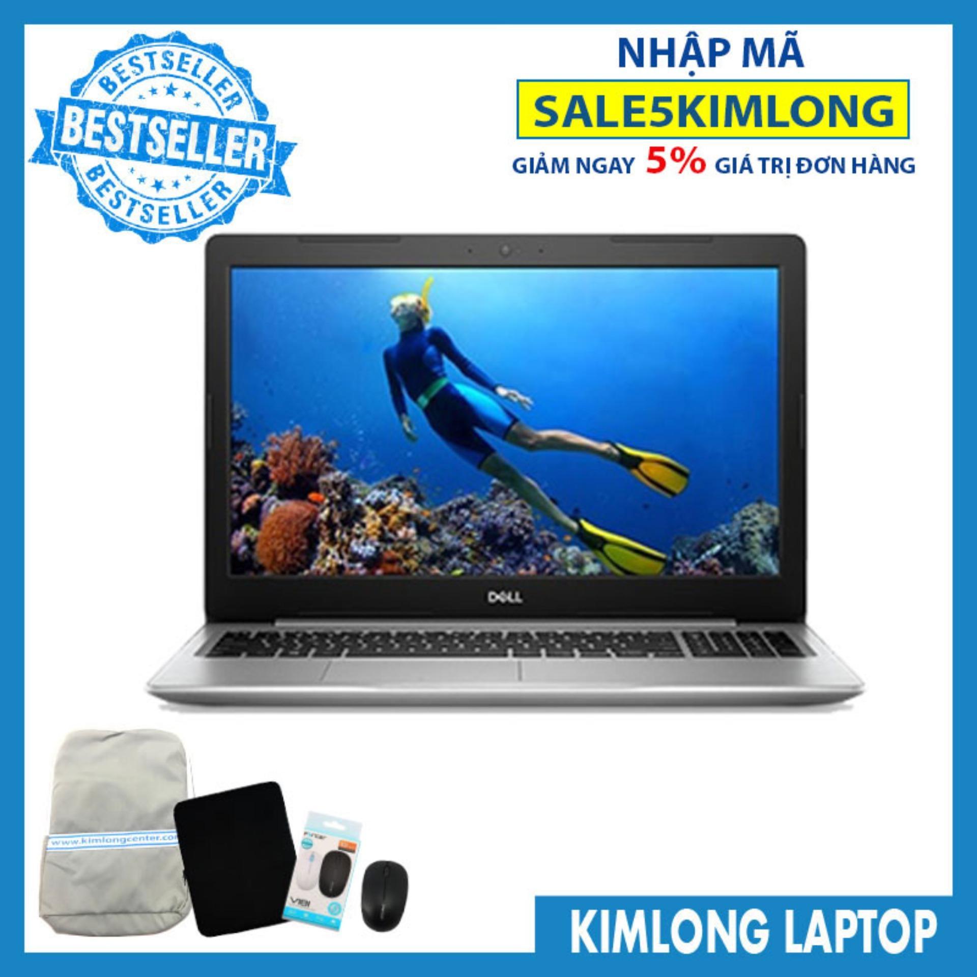 Bảng giá Laptop Dell Inspiron N5570 : i5-8250U 4GB RAM 1TB HDD AMD