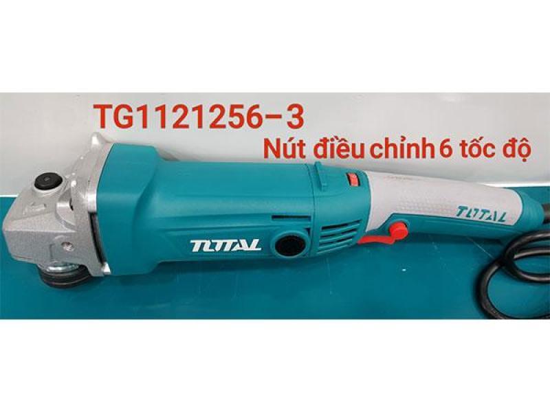 Máy mài góc cầm tay 1010W (125mm)TOTAL TG1121256-3 (CÓ ĐIỀU CHỈNH TỐC ĐỘ)