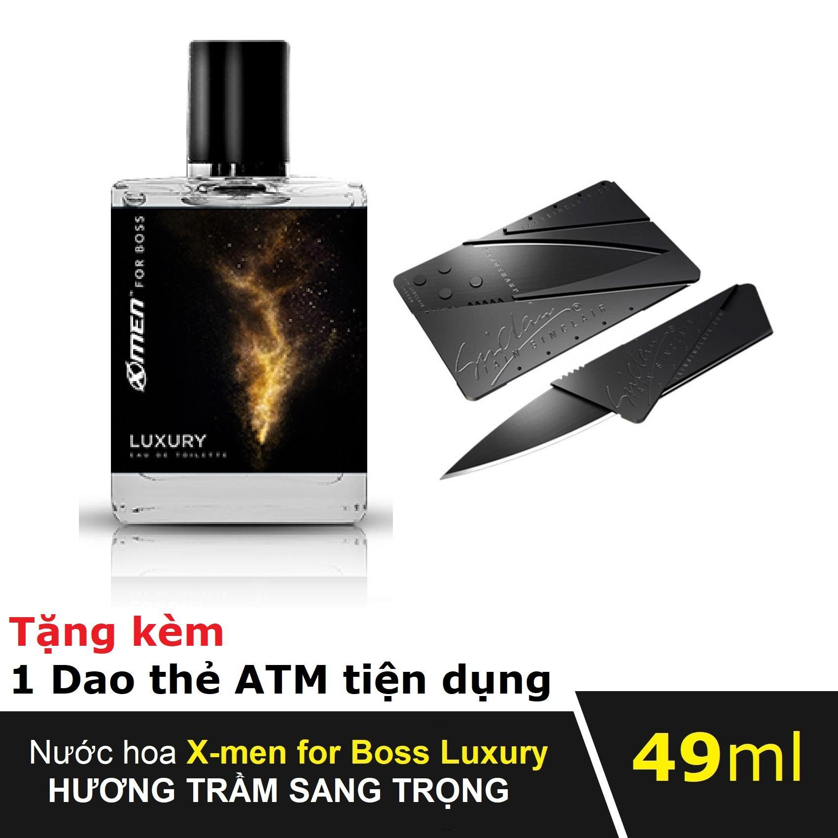 Nước hoa Xmen for Boss Luxury 49ml MẪU MỚI 2019 hộp đẹp sang trọng