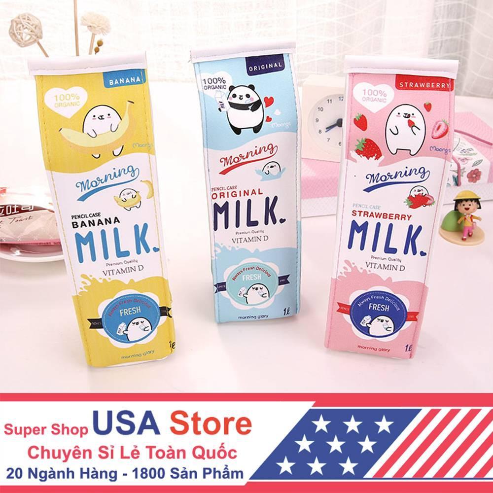 Mua Hộp Bút Kiểu Dáng Hộp Sữa Cute (Giao Mẫu Ngẫu Nhiên)HBook1044