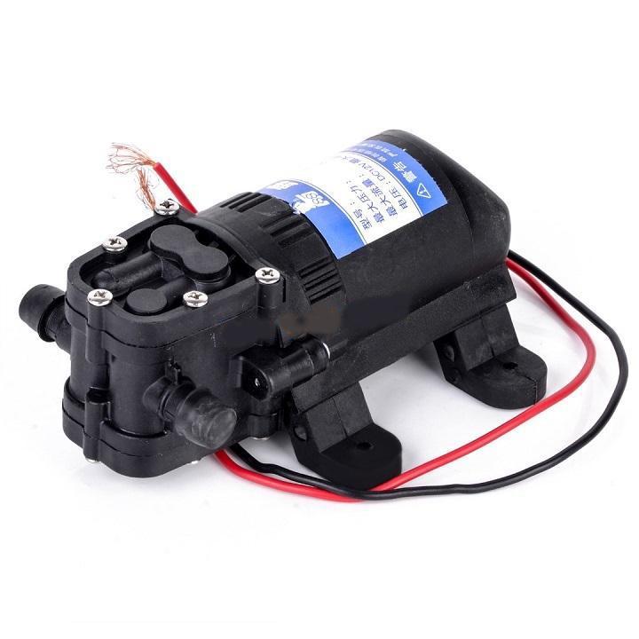 Máy bơm 12v - Máy bơm cao áp mini - Máy bơm mini 12v đa năng, Tự động ngắt mở, Không cần mồi, Nguồn điện 12V có thể sử dụng từ bình ắc quy rất tiện lợi khi di chuyển. B02125