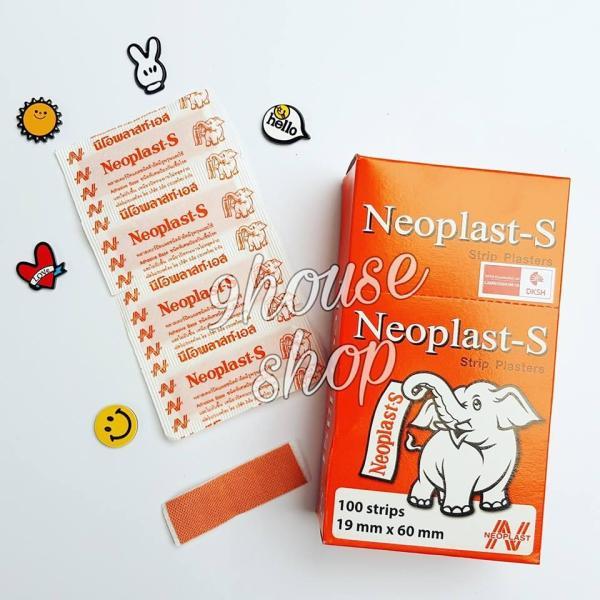 Băng Keo Cá Nhân Neoplast - S Thái Lan (100 miếng) nhập khẩu