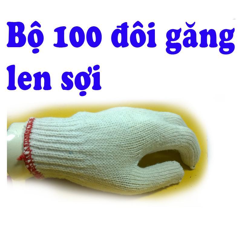 100 đôi găng len sợi