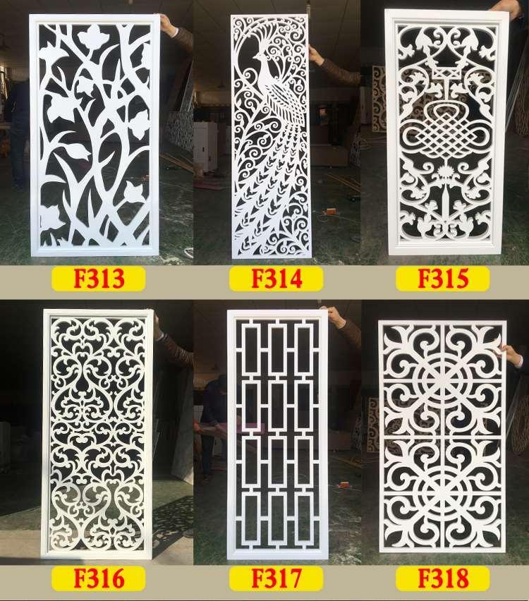 Vách Ngăn CNC phòng bếp chung cư # xả hàng 3 ngày # Giảm Giá 30% - Kích thước 45 x 125 cm  - nhựa dày 10 li - Nhận thiết kế Vách Ngăn CNC theo yêu cầu - Miễn Phí síp từ 4 tấm