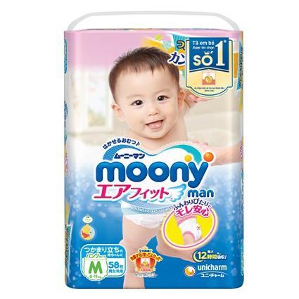 Giảm Giá Khi Mua cho Tã Quần Moony Nhật Size M 58 Miếng (6-11kg)-SALE 1 BỊCH M58