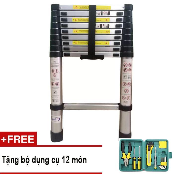 Thang rút Kachi loại 2.9m MK86 + Tặng bộ dụng cụ 12 món