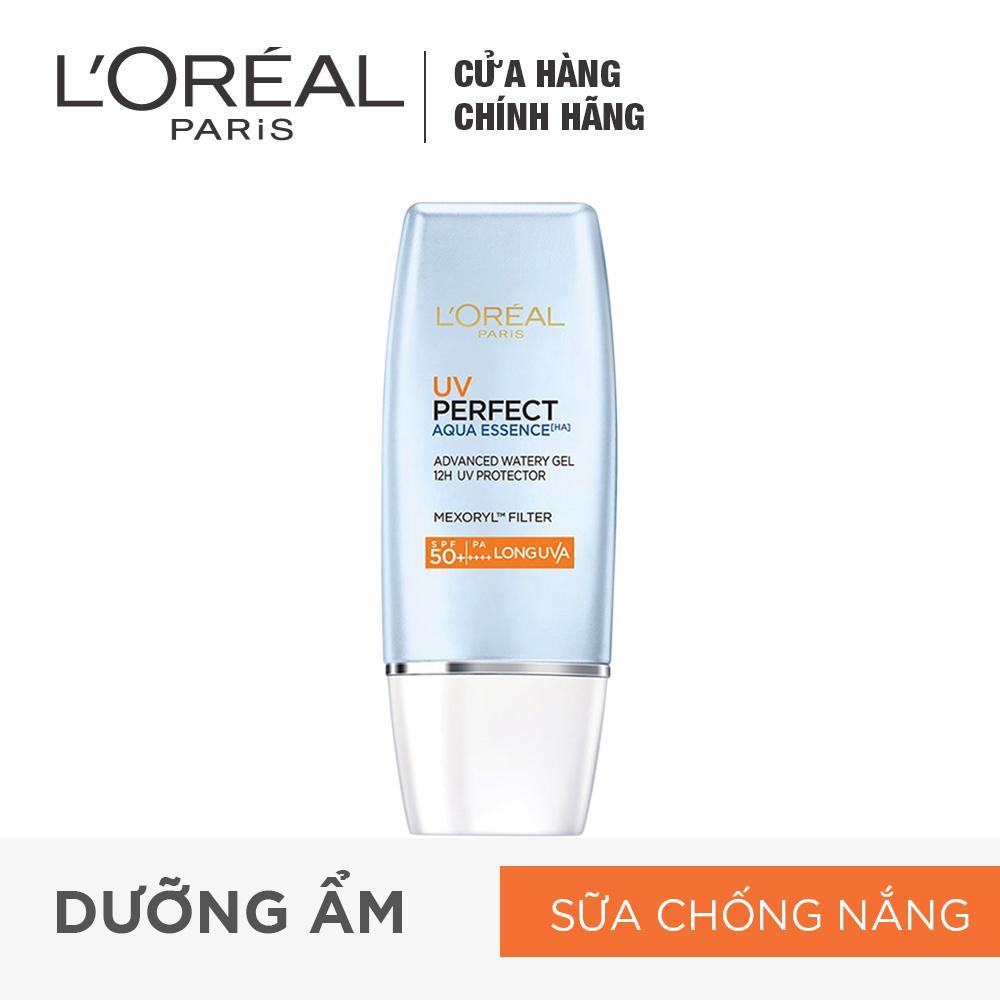 Hình ảnh Kem chống nắng dưỡng da sáng trong mịn màng L'Oreal Paris UV Perfect Aqua Essence SPF50+ PA++++ 30ml