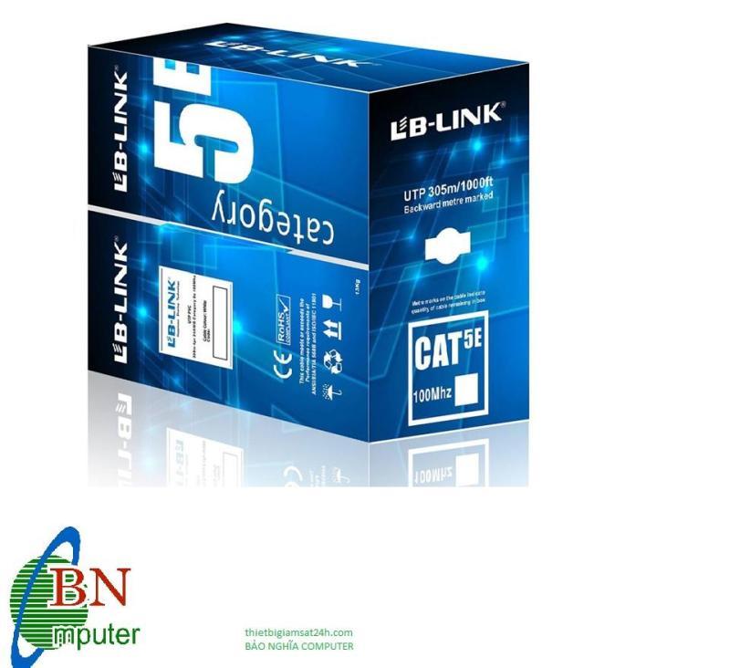 Bảng giá Dây cáp mạng Cat 5E Lb-link Hàng VNCT Phân phối. Phong Vũ