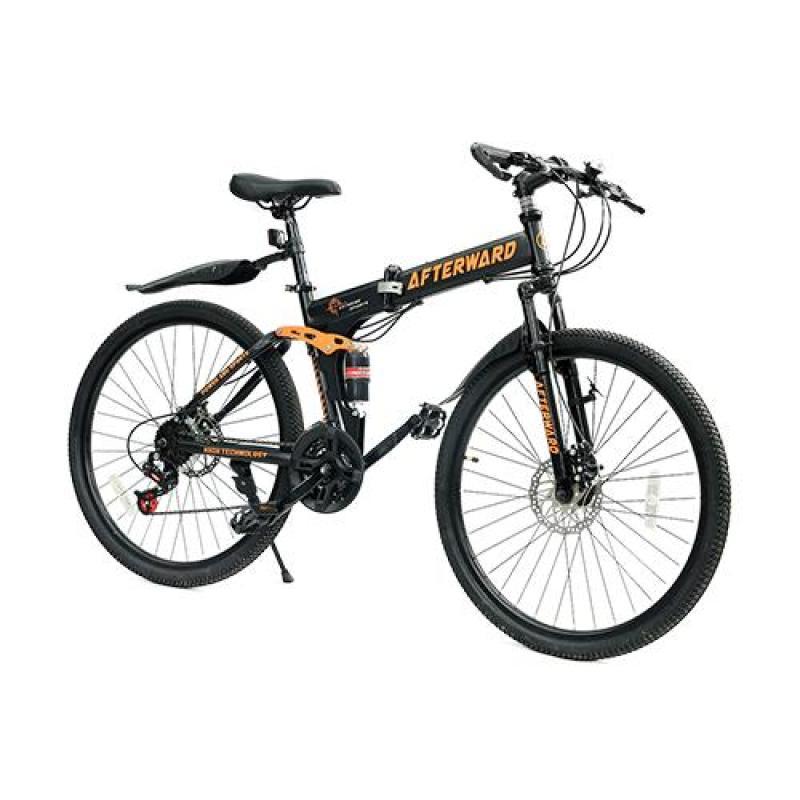 Mua Xe đạp gấp địa hình MK MK94 + bơm và khóa chống trộm