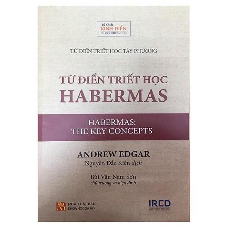 Mua Từ Điển Triết Học Habermas