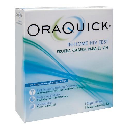 OraQuick In-Home HIV Test (Bộ tự xét nghiệm HIV chủng 1/2 tại nhà) (Buy 1 kit)