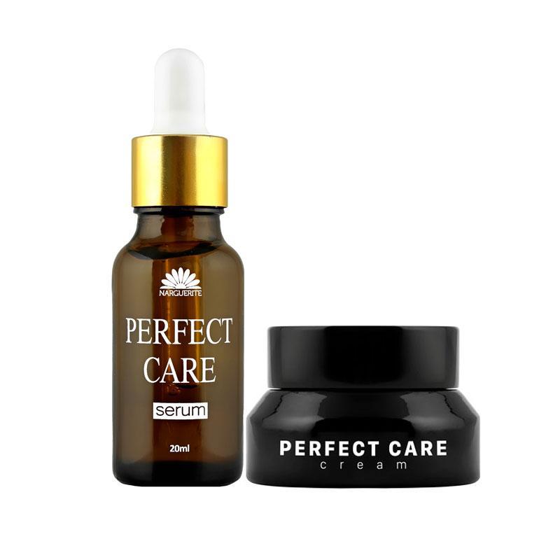 Combo dưỡng trắng tái tạo da từ thiên nhiên Perfect Care NARGUERITE + Tặng quà mini Narguerite