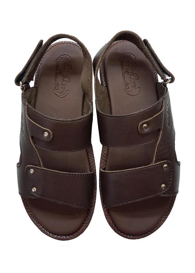 Giày Sandal Nam  BIGGBEN Da Bò Thật Cao Cấp SDB30