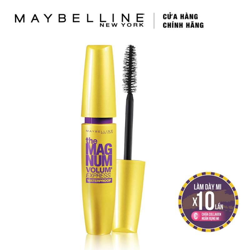 Mascara Maybelline New York làm dày mi Magnum Volum Express 9.2ml
