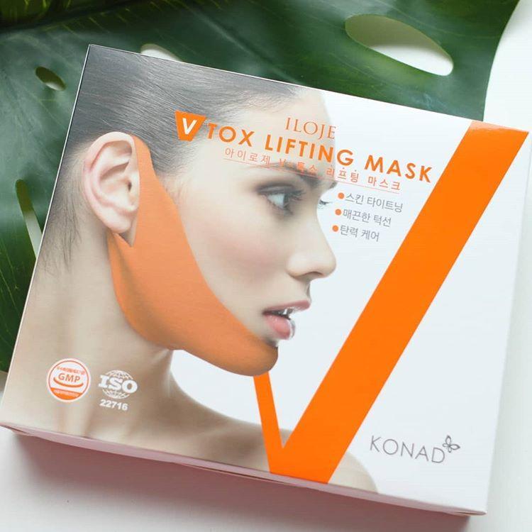 Mặt Nạ Konad Vtox Lifting Mask - Giải Pháp Cho Gương Mặt Vline Hoàn Hảo chính hãng