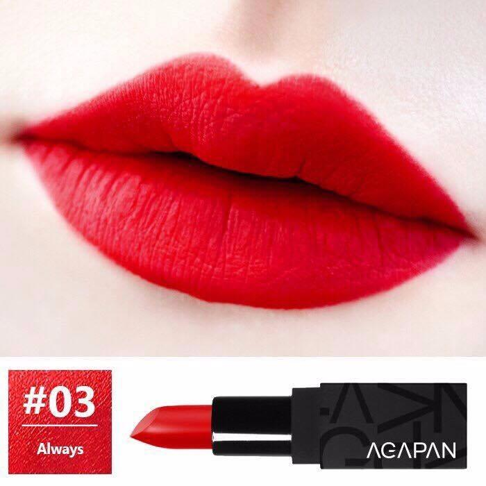 Giá Bán Son Thỏi Li Agapan Pit A Pat Matte Lipstick 3 5G 03 Always Đỏ Hồng Nhãn Hiệu Agapan