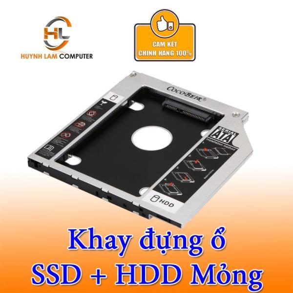 Bảng giá Caddy Bay SATA 3.0  Mỏng 9.5mm Gắn Thêm Ổ Cứng Cho Laptop Phong Vũ