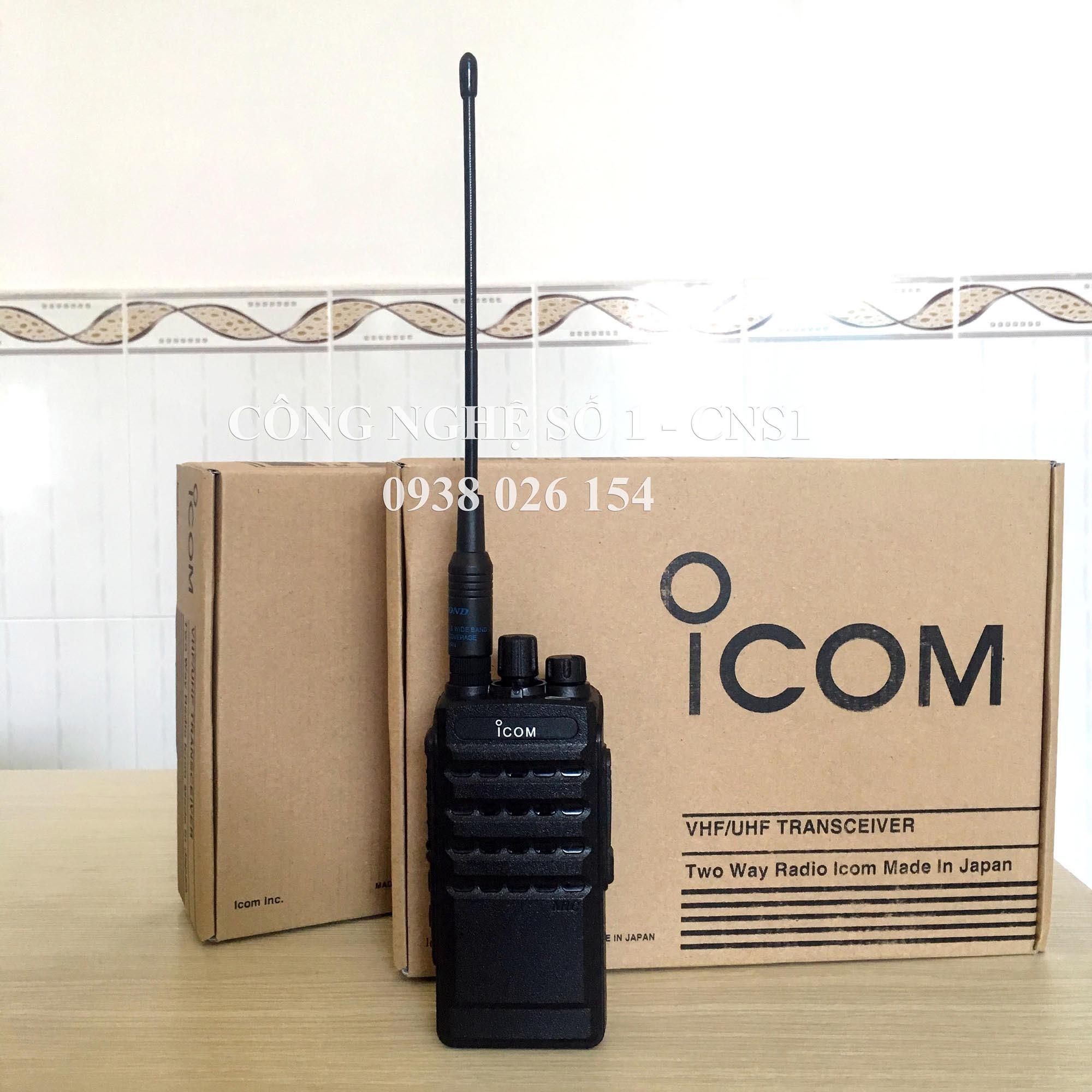 Hình ảnh Bộ đàm Icom F5003 cao cấp + TẶNG tai nghe ống hơi cao cấp