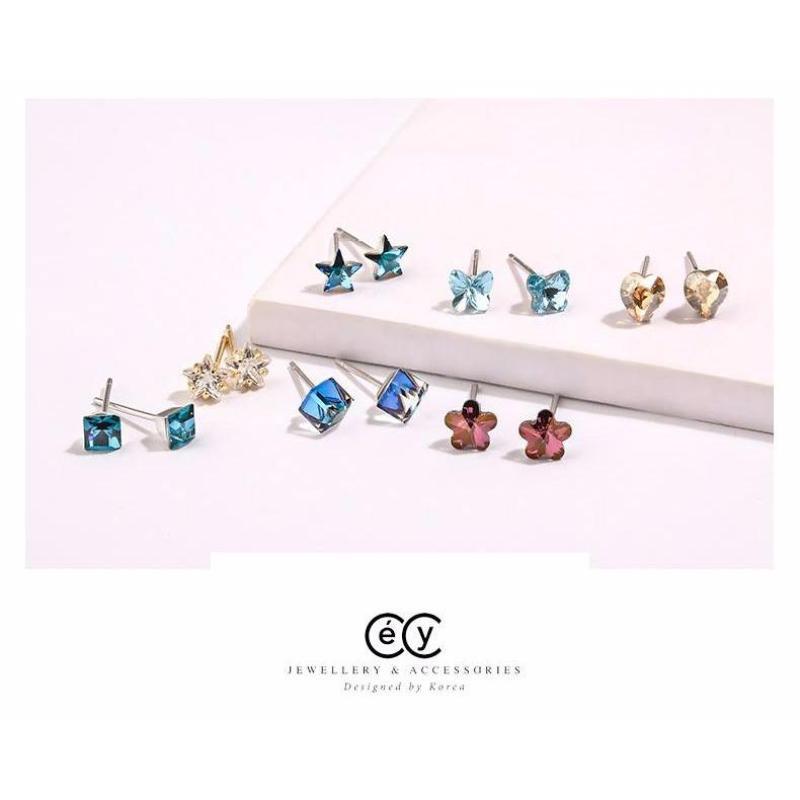 Khuyên tai swarovski Jewelry cecy