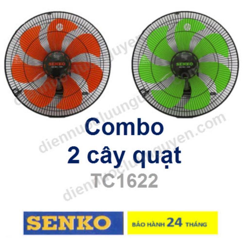 COMBO 2 QUẠT TREO TƯỜNG 7 CÁNH SENKO F23 TC1622