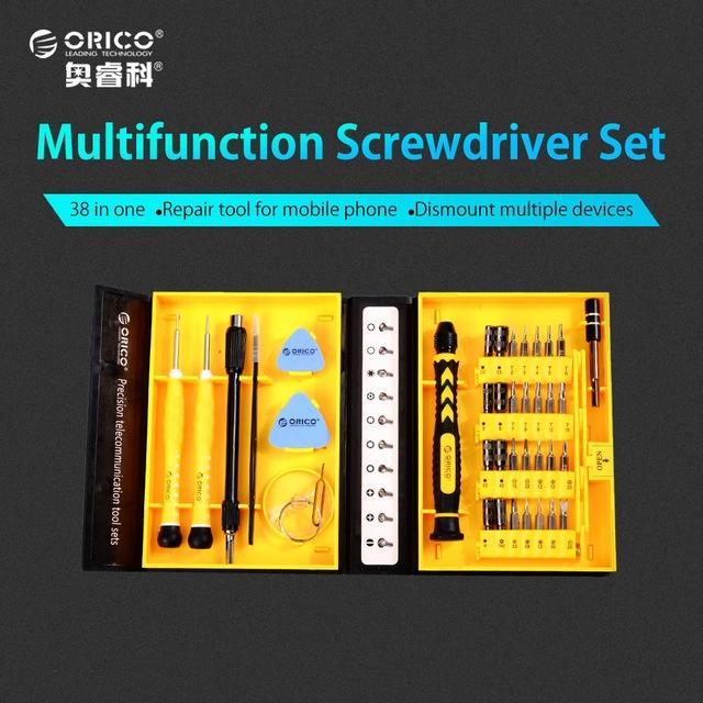 Bộ vít 38 công cụ đa năng Orico ST2 - 38 Món-Hàng Phân Phối Chính Hãng