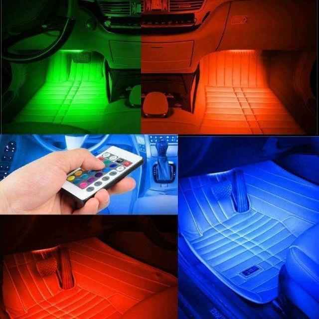 ĐÈN LED trang trí trong xe hơi 12 LED CAO CẤP