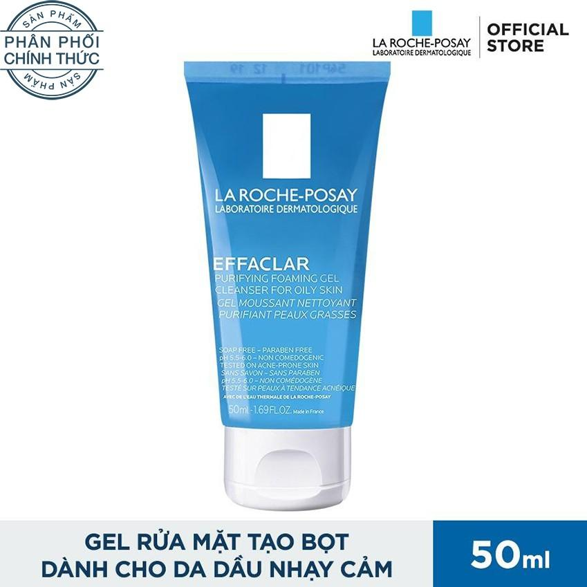 Gel rửa mặt La Roche Posay Effaclar Purifying Foaming Gel 50ml