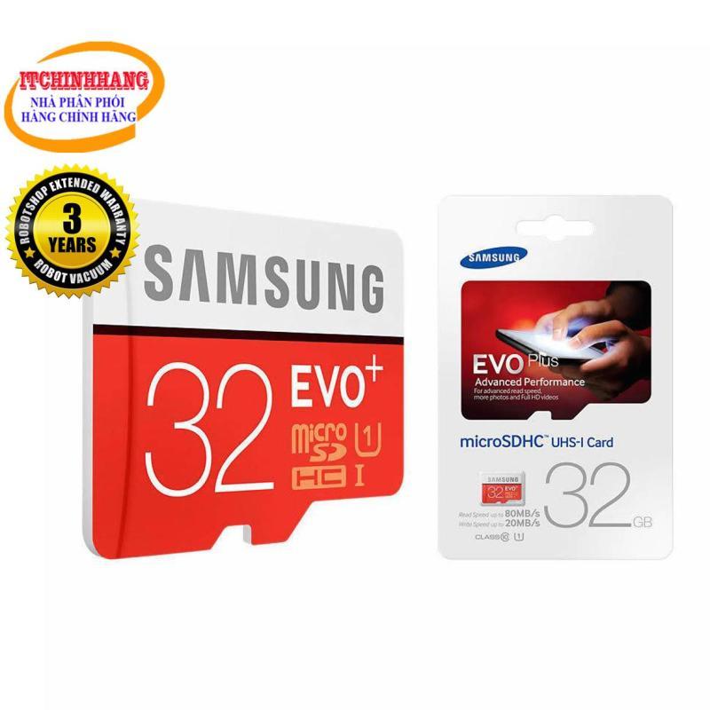 Thẻ Nhớ MicroSDHC Samsung EVO Plus 32GB