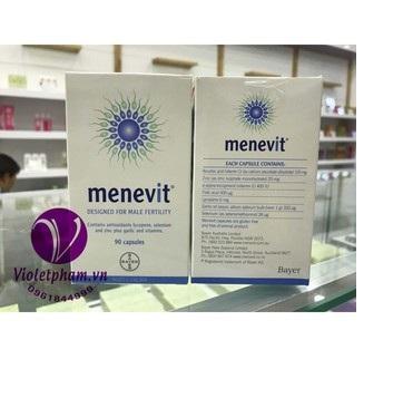 Viên uống hỗ trợ sinh sản nam giới Menevit 90 viên chính hãng