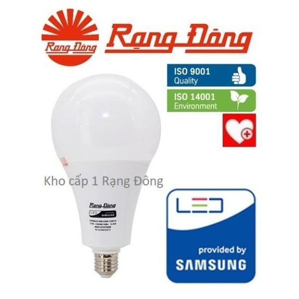 [Lấy mã giảm thêm 30%]Bóng đèn LED bulb 30W Rạng Đông - SAMSUNG ChipLED Mới