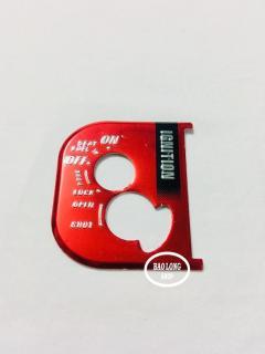 Tem Nhôm dán ổ khóa Xe máy Airblade (màu Đỏ) thumbnail