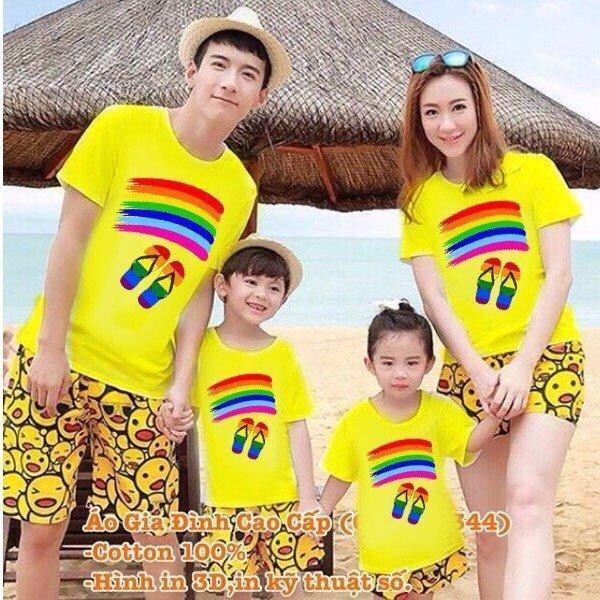 áo thun gia đình - áo gia đình đẹp- áo thun gia đình mùa hè