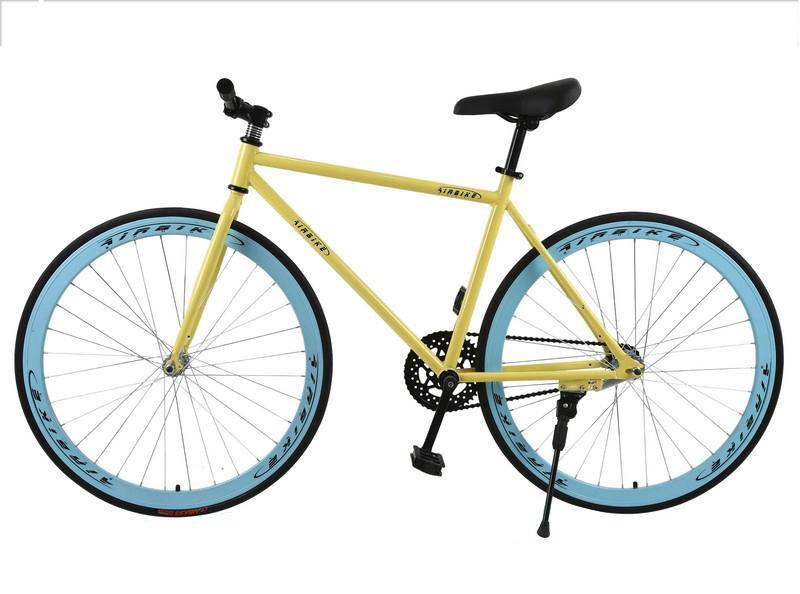 Mua Kachi - Xe đạp Fixed Gear Air Bike MK78 (vàng màu)