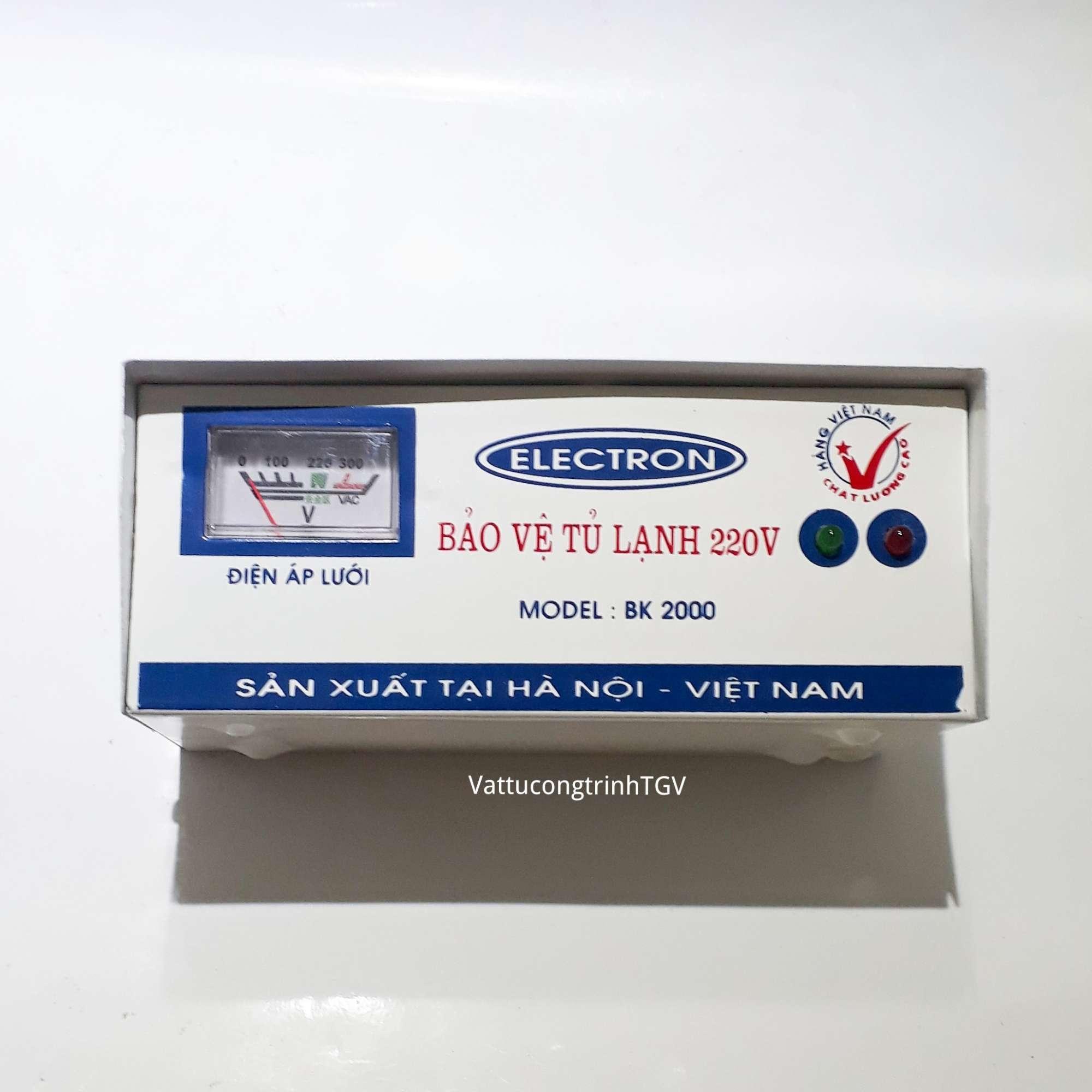 Thiết bị bảo vệ tủ lạnh BK2000