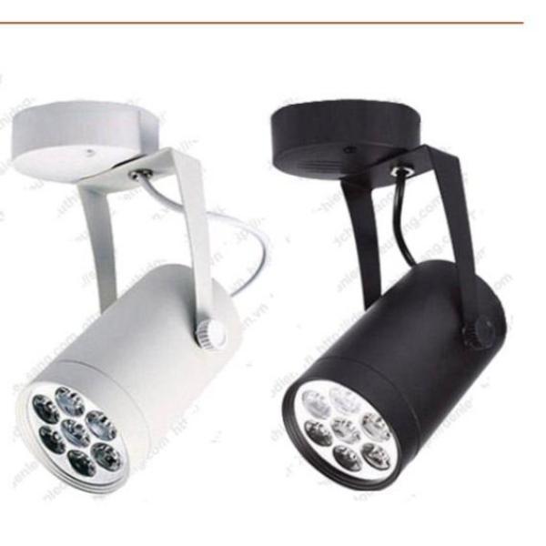 Combo 2 Đèn LED Rọi 7W gắn tường hoặc trần. Combo 2 đèn led 7W bạn có thể chọn vỏ trắng và đen hoặc cùng màu trắng, cùng màu đen., chọn ánh sáng vàng hoặc trắng trong phần ghi chú khi đặt hàng.