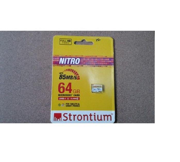Thẻ nhớ Strontium Micro SDXC 64GB