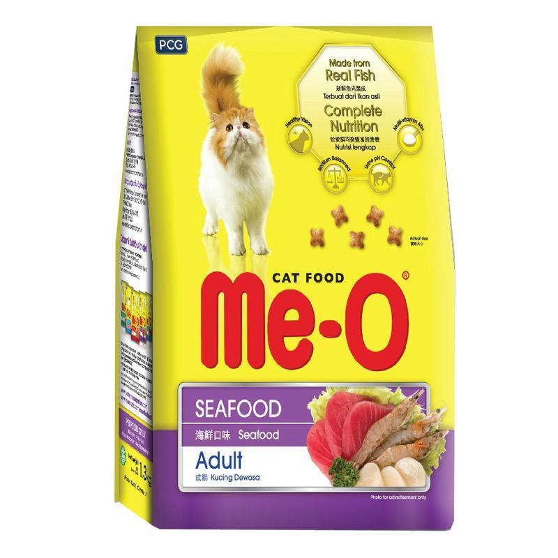 HCM - Hạt Me-O Thức ăn hạt cho mèo trưởng thành (3 vị) / hạt mèo / thức ăn mèo / thức ăn cho mèo / thức ăn dành cho mèo lớn / thức ăn mèo dạng hạt khô
